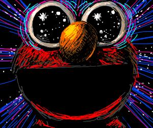 Elmo sees everything