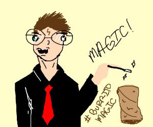 Harry potter summons a burrito