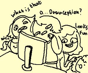 When teenage girls find Drawception