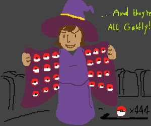 Witch has 444 Pokeballs.
