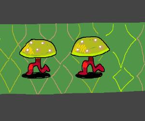 Earthbound mushroom