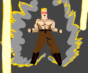 Amhart Style Super Saiyan King of The Hills
