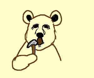 Tool-bearing bear-tooling bear