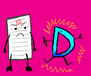 Pice of paper is jealous of Drawception