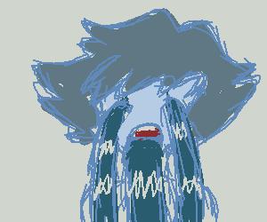 Lapis Lazuli from Steven's dream in Chille Tid