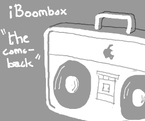 Boomboxes are making a comeback!