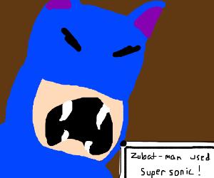 Zubat-man, the pokémon-knight