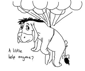 Eeyore needs help!