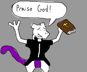 Mewtwo is now a minister