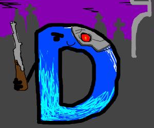 Drawception D is a death terminator hybrid