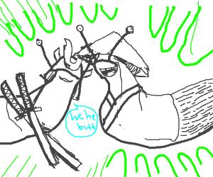 Immature Radioactive Samurai Slugs