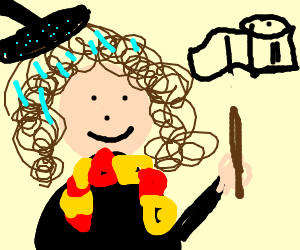 fondue-haired Hermione cares about hygiene