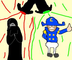 Darth Sidious vs Captain Crunch in a dance-off
