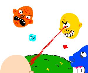 Floating head war