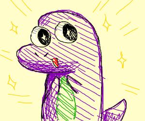 Child Friendly Purple monster