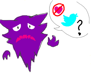 Haunter asks why you don't like his tweets