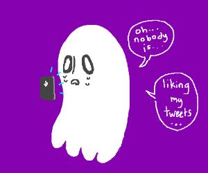 underlale ghost on twitter