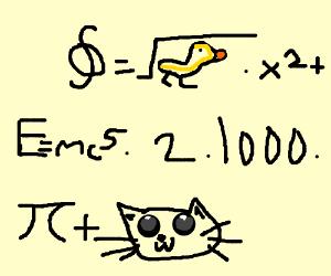 weird ass math equation