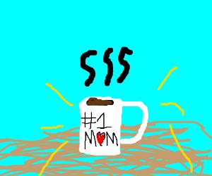 #1 Mom Coffee Mug