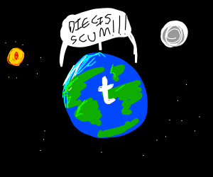 Tumblr Virus Affects Everyone On The Planet Drawing By Captor