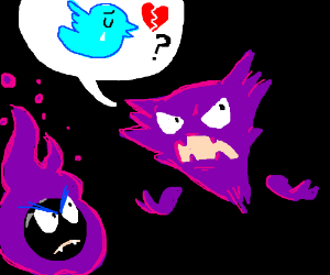 Haunter asks why there is no love for twitter.
