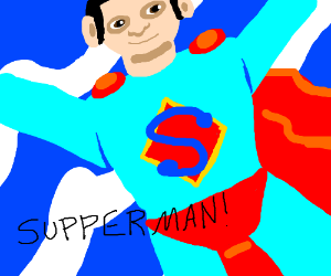 Superman chinese knock-off