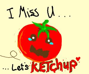 tomato making ketchup puns