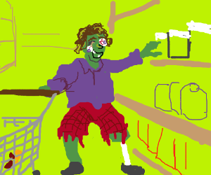 Zombie shopping
