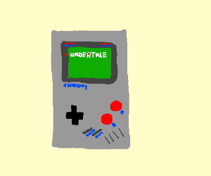Undertale on a Gameboy