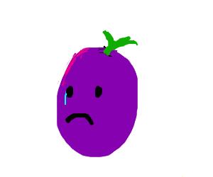 Sad grape