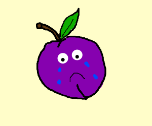 Crying plum