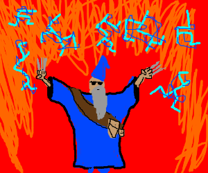 Cool wizards don't look at exploding runes.