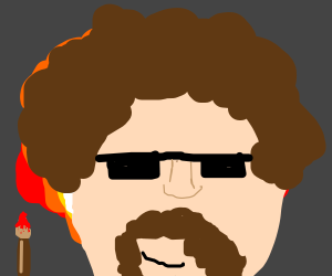 Bob Ross obliterates a town with explosion