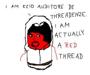 ezio is actually a red thread