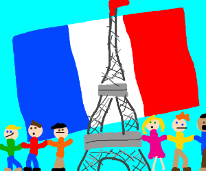 Nous sommes avec France. We are with France.