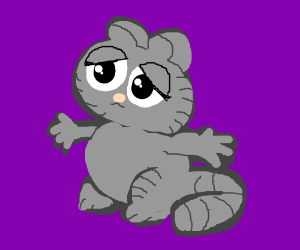 grey garfield wants affection