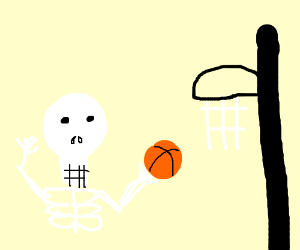 Skeleton's freethrow