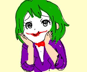The Joker. ANIMU STYLE!!