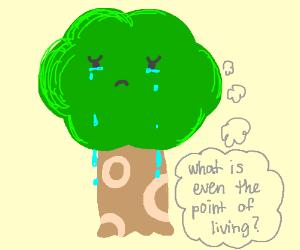Depressed Tree