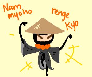 Bhuddist ninja