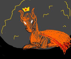 A dragon king.