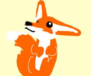 an autistic fox is being XDD SO RANDOME!!!