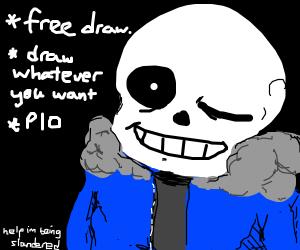 Free draw, PIO!! (I know that's you sans)