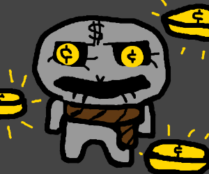 Greed from the Binding of Isaac