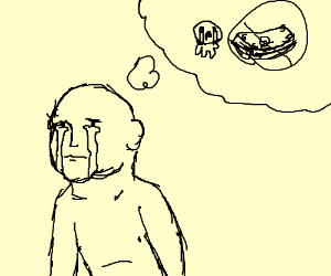 Isaac cries about money