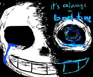 Sans saying its always a bad time