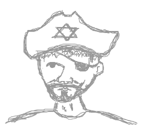 """YOU ARE A PIRATE!"" ""No I'm Jewish!"""