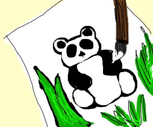 Painting a Panda
