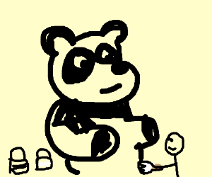 Paint a panda