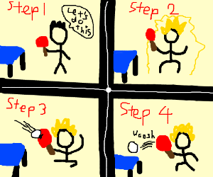 How to play ping-pong